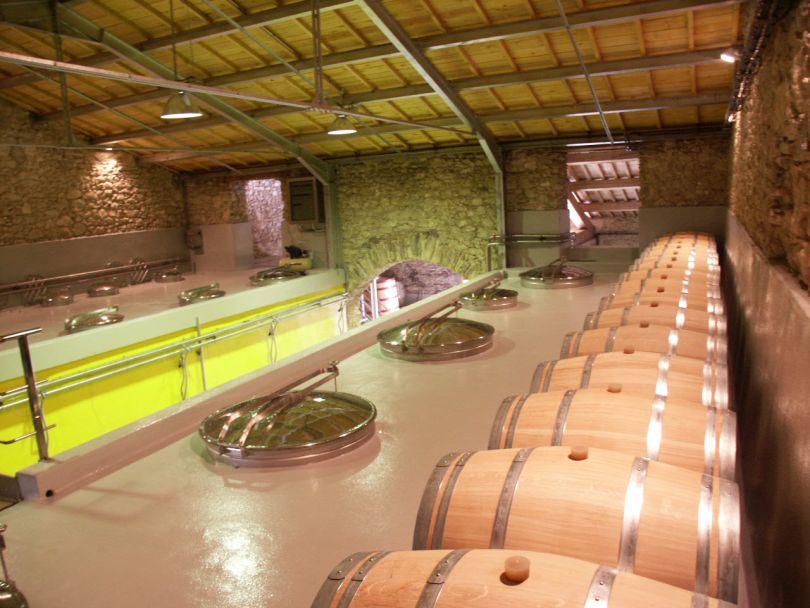 Weinkeller bei Hegarty Chamans