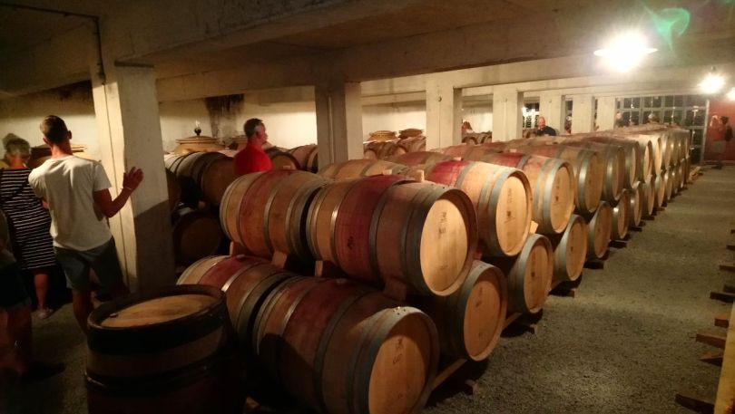 Weinkeller Chateau de la Selve Barrique Fässer
