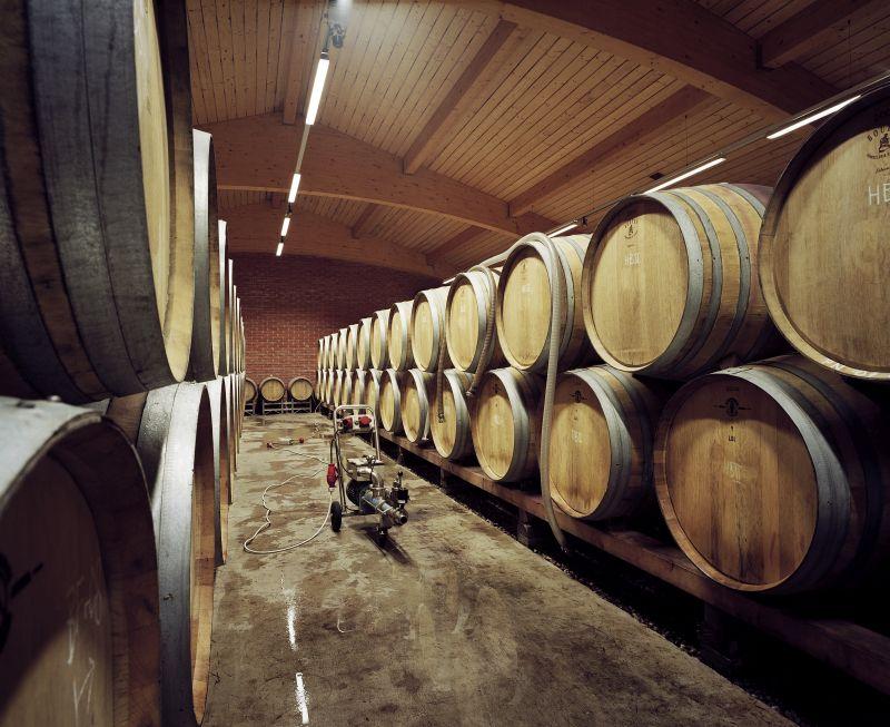 Weinkeller Nittnaus Holzfässer