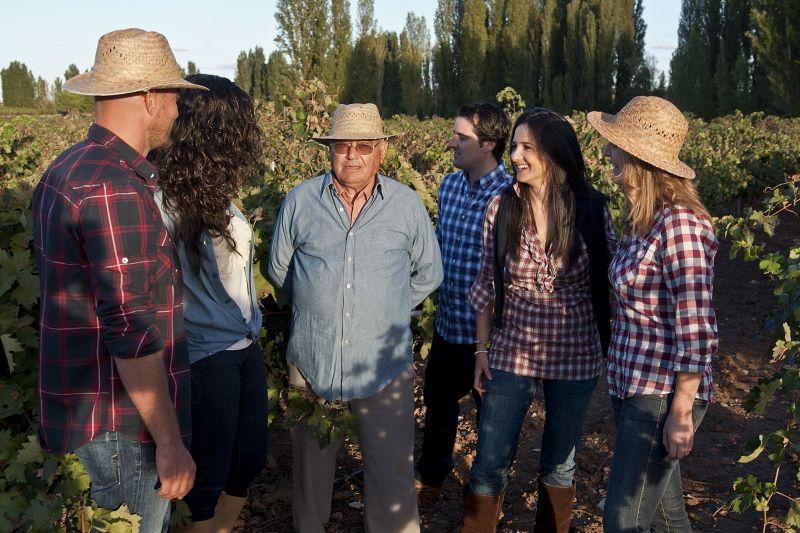 Führung durch die Weinberge der Bodegas Latue