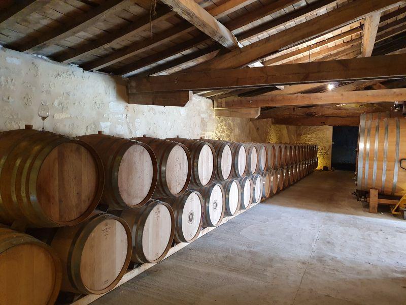 Weinkeller Chateau Millaire Fronsac Bordeaux