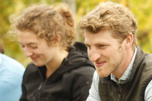 Peter Bernhard Kühn mit seiner Frau