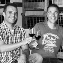 Ralf und Arno Knobloch aus Ober-Flörsheim vom Bioweingut Knobloch