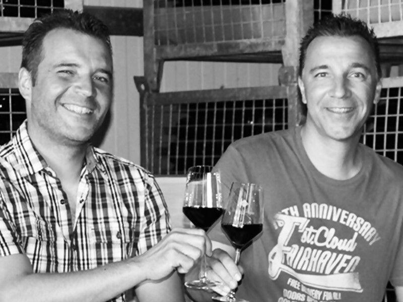Ralf und Arno Knobloch vom Bioweingut Knobloch